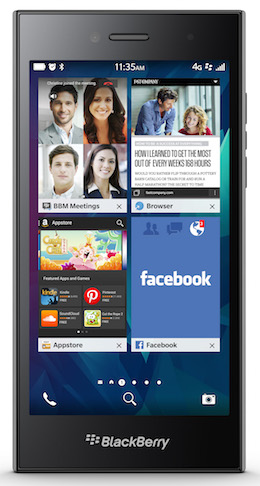 "BlackBerry Leap"" title="