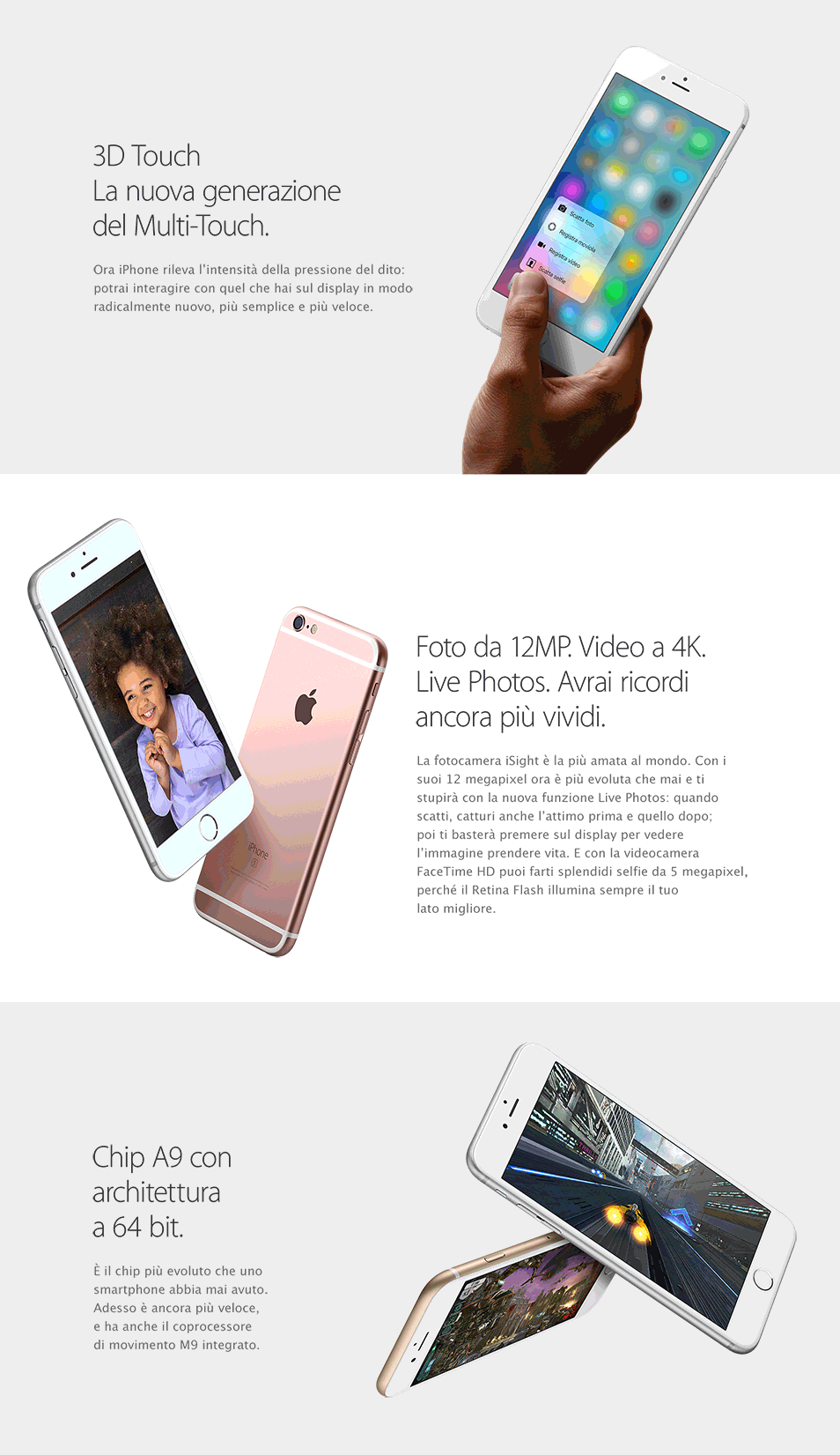 iPhone 6s Vodafone: 3D Touch